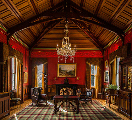 Dine in Larnach Castle